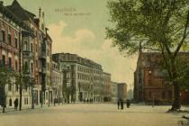 Bt  2  1907 Dworzec stary - kolor 4-01-1908 awers